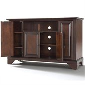 Crosley Furniture LaFayette 48 TV Stand in Vintage Mahogany Finish