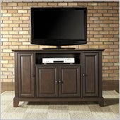 Crosley Furniture Newport 48 TV Stand in Vintage Mahogany Finish