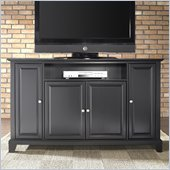 Crosley Furniture Newport 60 TV Stand in Black Finish