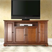 Crosley Furniture Alexandria 60 TV Stand in Classic Cherry Finish