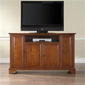 Crosley Furniture LaFayette 60 TV Stand in Classic Cherry Finish