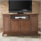 Crosley Furniture Newport 60 TV Stand in Classic Cherry Finish