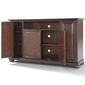 Crosley Furniture Alexandria 60 TV Stand in Vintage Mahogany Finish