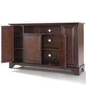 Crosley Furniture LaFayette 60 TV Stand in Vintage Mahogany Finish