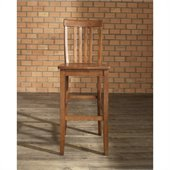 Crosley Furniture Bar Height School House Bar Stool in Classic Cherry Finish