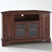 Crosley Furniture LaFayette 48 Corner TV Stand in Vintage Mahogany