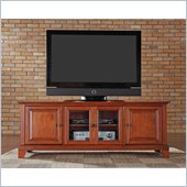 Crosley Furniture Newport 60 Low Profile TV Stand in Classic Cherry
