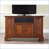 Crosley LaFayette 48 AroundSound TV Stand in Classic Cherry