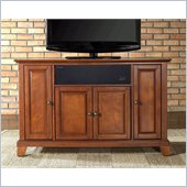 Crosley Newport 48 AroundSound TV Stand in Classic Cherry