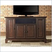 Crosley Newport 48 AroundSound TV Stand in Vintage Mahogany