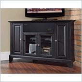 Crosley Newport 48 AroundSound Corner TV Stand in Black
