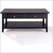Crosley Alexandria Coffee Table in Black
