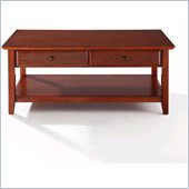 Crosley Alexandria Coffee Table in Classic Cherry