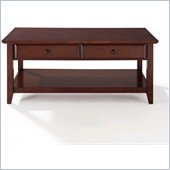 Crosley Alexandria Coffee Table in Vintage Mahogany