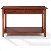 Crosley Alexandria Sofa Table in Classic Cherry
