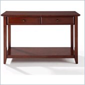 Crosley Alexandria Sofa Table in Vintage Mahogany