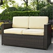 Crosley Palm Harbor Outdoor Wicker Loveseat 