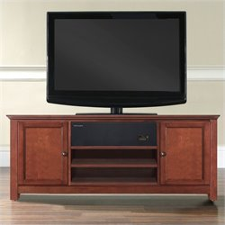 Crosley Furniture TV Stand with Sound Bar in Cherry