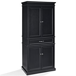 Crosley Parsons Pantry in Black