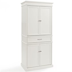 Crosley Parsons Pantry in White