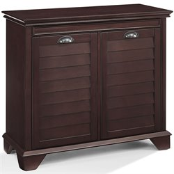 Crosely Lydia Linen Cabinet in Espresso