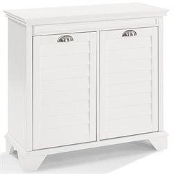 Crosely Lydia Linen Cabinet in White