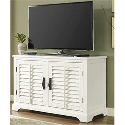 Crosley Sawgrass TV Stand in White