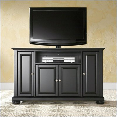 Crosley Furniture Alexandria 48&quot; TV Stand in Black Finish