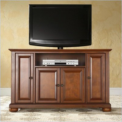 Crosley Furniture Alexandria 48&quot; TV Stand in Classic Cherry Finish
