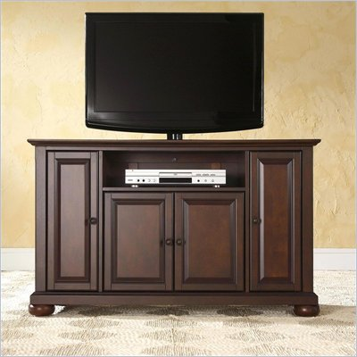 Crosley Furniture Alexandria 48&quot; TV Stand in Vintage Mahogany Finish