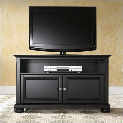 Crosley Furniture Alexandria 42&quot; TV Stand in Black Finish