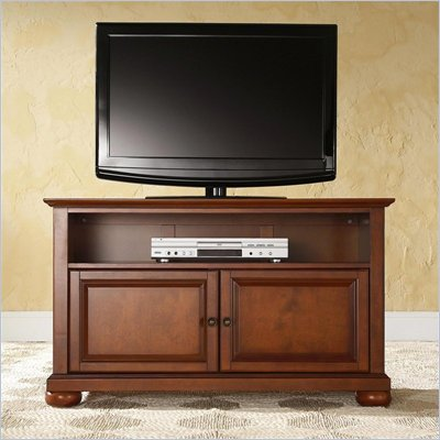 Crosley Furniture Alexandria 42&quot; TV Stand in Classic Cherry Finish