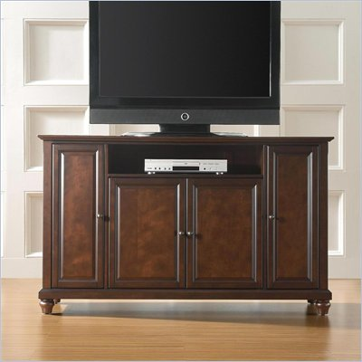 Crosley Furniture Cambridge 60&quot; TV Stand in Vintage Mahogany Finish