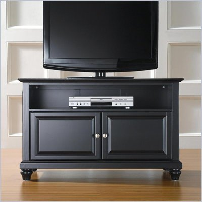 Crosley Furniture Cambridge 42&quot; TV Stand in Black Finish