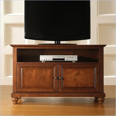 Crosley Furniture Cambridge 42&quot; TV Stand in Classic Cherry Finish