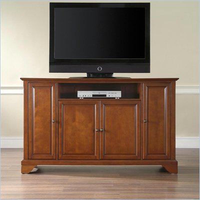 "Crosley Furniture LaFayette 60"" TV Stand in Classic Cherry Finish"