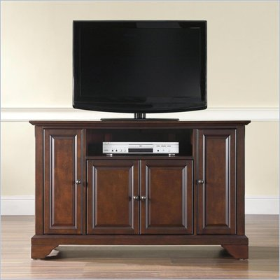 Crosley Furniture LaFayette 48&quot; TV Stand in Vintage Mahogany Finish