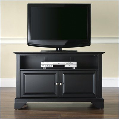 Crosley Furniture LaFayette 42&quot; TV Stand in Black Finish