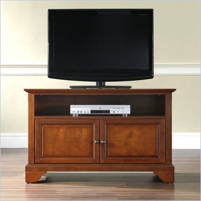 "Crosley Furniture LaFayette 42"" TV Stand in Classic Cherry Finish"