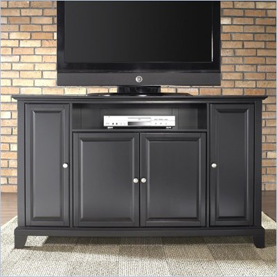 Crosley Furniture Newport 60&quot; TV Stand in Black Finish