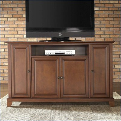 "Crosley Furniture Newport 60"" TV Stand in Classic Cherry Finish"