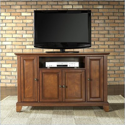 Crosley Furniture Newport 48&quot; TV Stand in Classic Cherry Finish