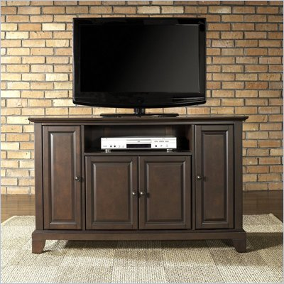 Crosley Furniture Newport 48&quot; TV Stand in Vintage Mahogany Finish