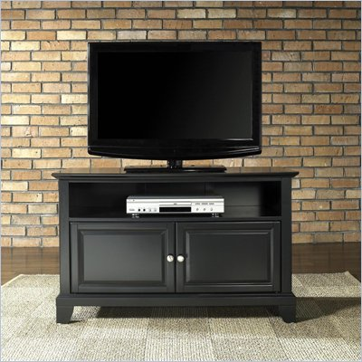 "Crosley Furniture Newport 42"" TV Stand in Black Finish"