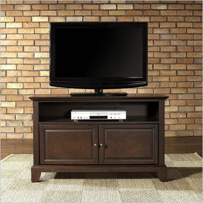 "Crosley Furniture Newport 42"" TV Stand in Vintage Mahogany Finish"