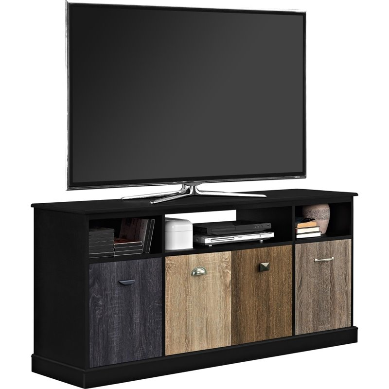 Altra Furniture Blackburn 60 TV Stand in Black