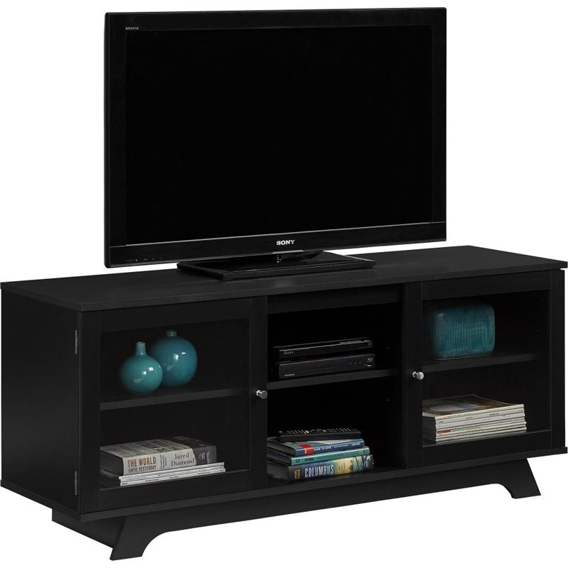 Altra Furniture Englewood 55 TV Stand in Black