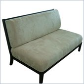 DHP Cambridge Sofa in Espresso and Ivory