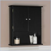 Ameriwood Bathroom Wall Cabinet in Espresso