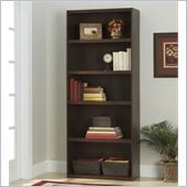 Ameriwood 5 Shelf Wood Bookcase in Resort Cherry